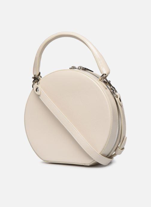 Handtassen Rebecca Minkoff CIRCLE BAG CROSSBODY NAPLACK Wit rechts