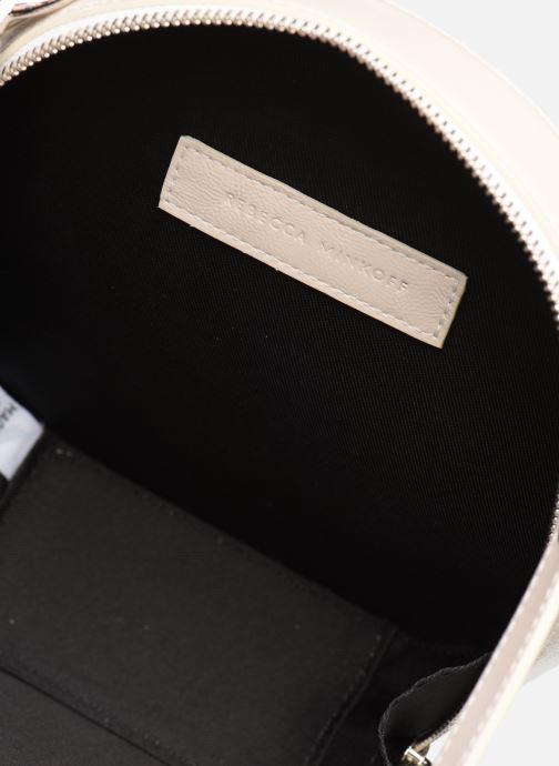 Handtassen Rebecca Minkoff CIRCLE BAG CROSSBODY NAPLACK Wit achterkant