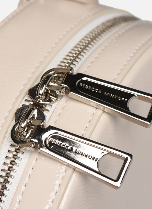 Handtassen Rebecca Minkoff CIRCLE BAG CROSSBODY NAPLACK Wit links