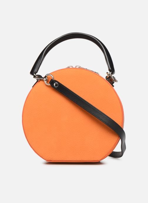 Sacs à main Rebecca Minkoff CIRCLE BAG CROSSBODY NUBUCK Orange vue face