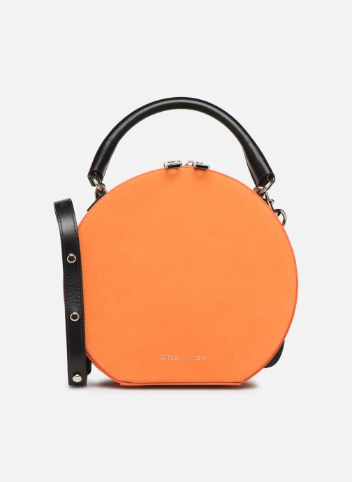 Sacs à main Rebecca Minkoff CIRCLE BAG CROSSBODY NUBUCK Orange vue détail/paire