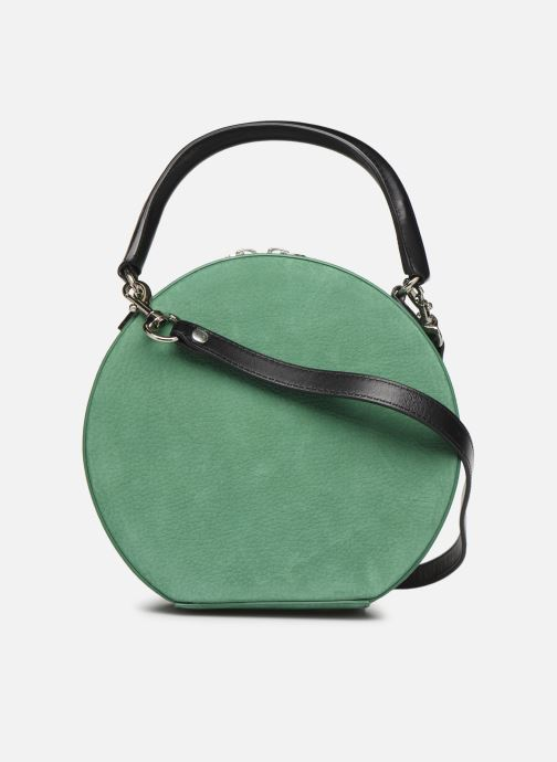 Sacs à main Rebecca Minkoff CIRCLE BAG CROSSBODY NUBUCK Vert vue face