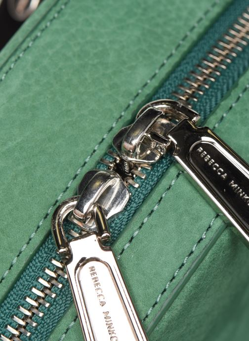 Sacs à main Rebecca Minkoff CIRCLE BAG CROSSBODY NUBUCK Vert vue gauche