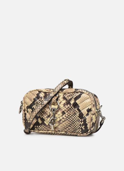 Handtaschen Rebecca Minkoff CAMERA BELT BAG PITONE beige schuhe getragen