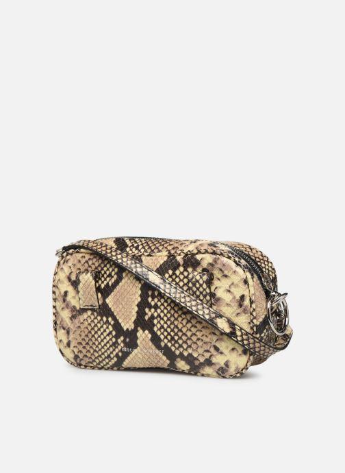 Handtaschen Rebecca Minkoff CAMERA BELT BAG PITONE beige ansicht von rechts
