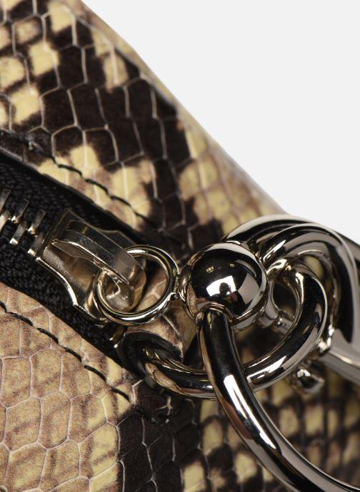 Handtaschen Rebecca Minkoff CAMERA BELT BAG PITONE beige ansicht von links