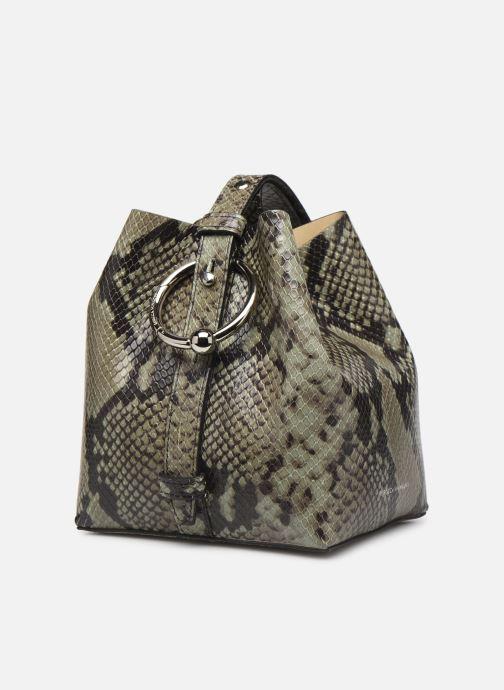 Handtaschen Rebecca Minkoff MINI KATE BUCKET PITONE grün schuhe getragen