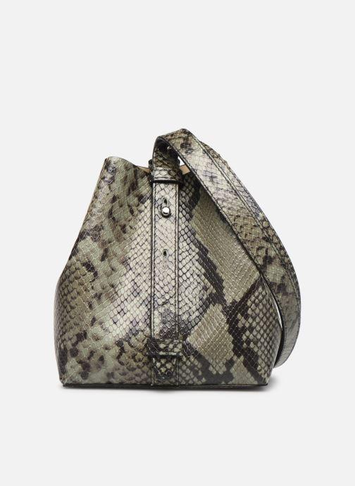 Handtaschen Rebecca Minkoff MINI KATE BUCKET PITONE grün ansicht von vorne