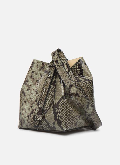Handtaschen Rebecca Minkoff MINI KATE BUCKET PITONE grün ansicht von rechts