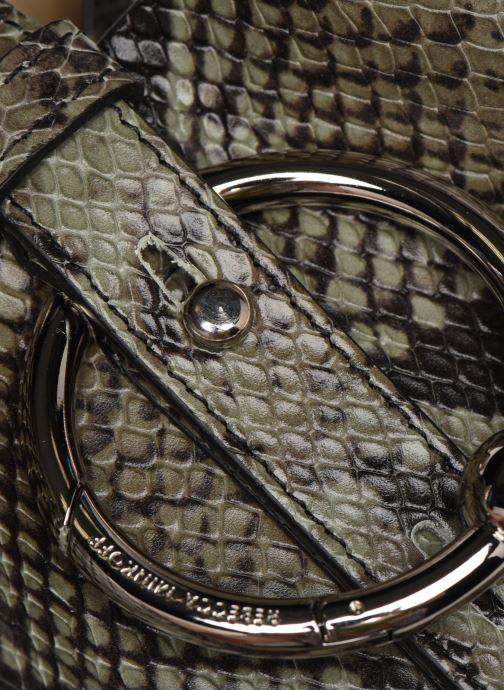 Handtaschen Rebecca Minkoff MINI KATE BUCKET PITONE grün ansicht von links