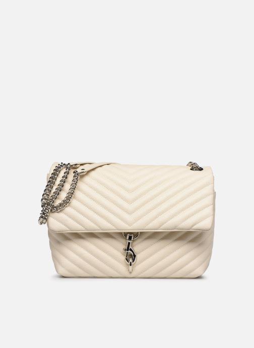Handtaschen Rebecca Minkoff EDIE FLAP SHOULDER BAG PEBBLE beige detaillierte ansicht/modell