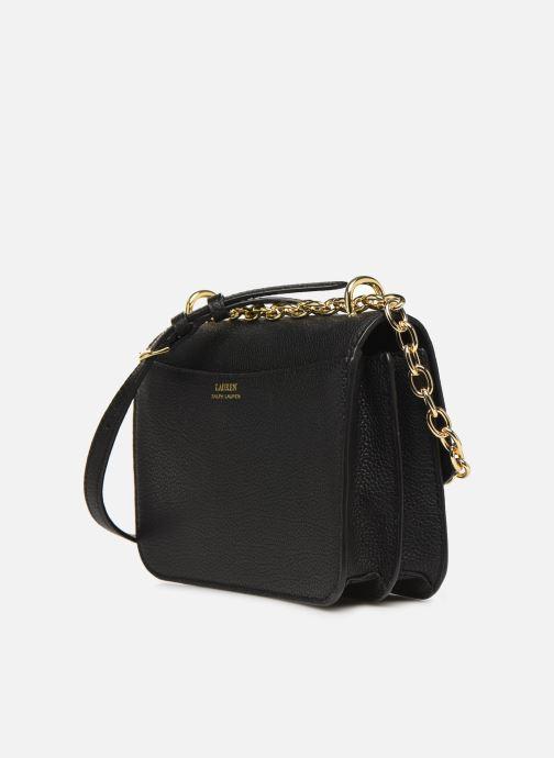 Handtaschen Lauren Ralph Lauren MADISON schwarz ansicht von rechts