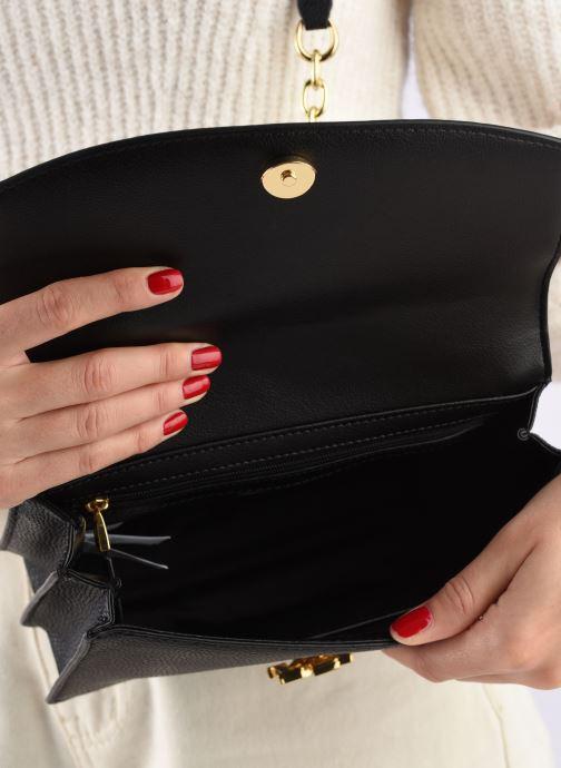 Handtaschen Lauren Ralph Lauren MADISON schwarz ansicht von hinten