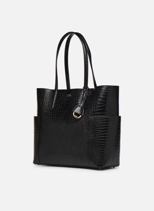 Handtassen Lauren Ralph Lauren CARLYLE Zwart model