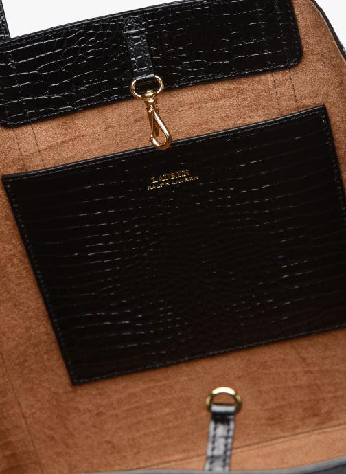 Handtassen Lauren Ralph Lauren CARLYLE Zwart achterkant