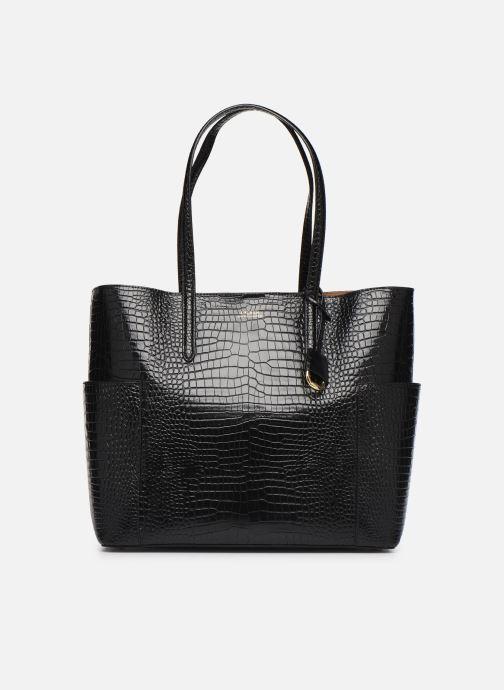 Handtassen Lauren Ralph Lauren CARLYLE Zwart detail