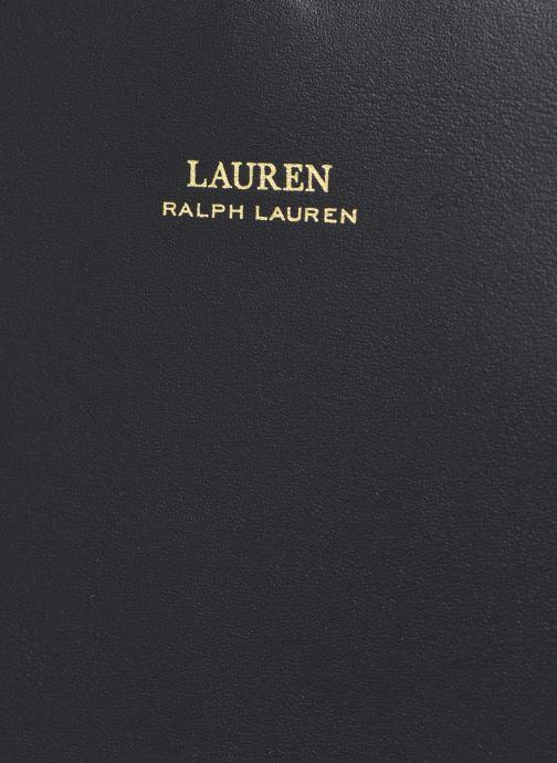 Sacs à main Lauren Ralph Lauren CARLYLE Noir vue gauche