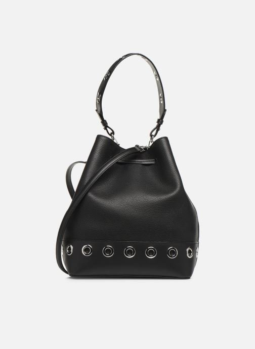 Handtassen Lauren Ralph Lauren DEBBY DRAWSTRING Zwart voorkant