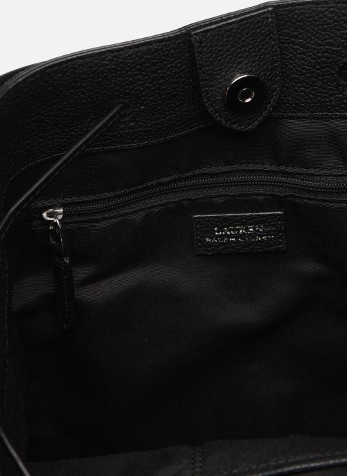 Handtassen Lauren Ralph Lauren DEBBY DRAWSTRING Zwart achterkant