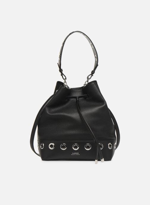 Handtassen Lauren Ralph Lauren DEBBY DRAWSTRING Zwart detail