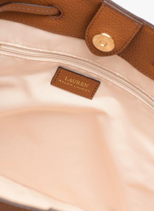 Handtassen Lauren Ralph Lauren DEBBY DRAWSTRING Bruin achterkant