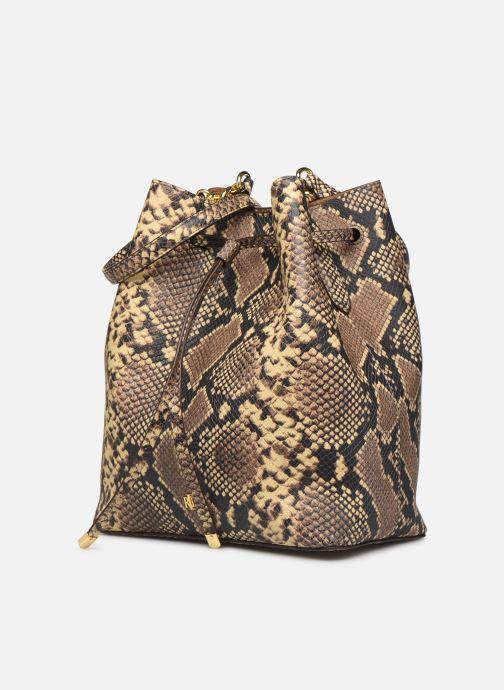 Handtassen Lauren Ralph Lauren DEBBY DRAWSTRING Beige model