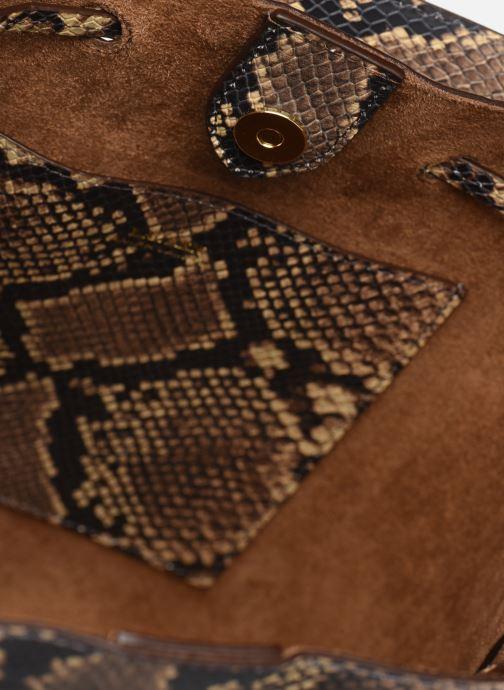 Handtassen Lauren Ralph Lauren DEBBY DRAWSTRING Beige achterkant
