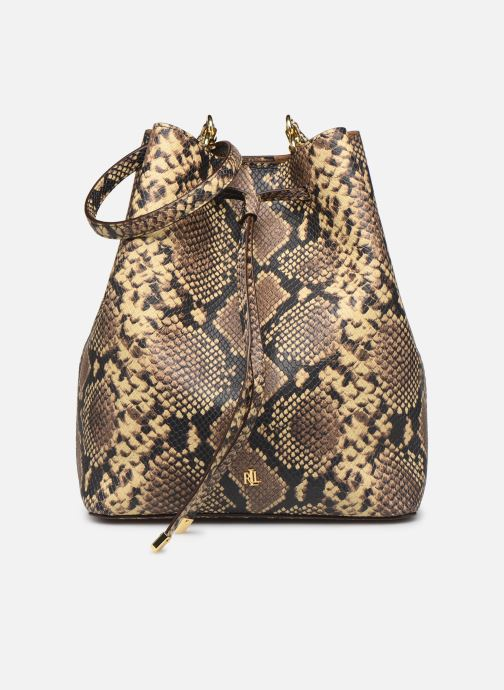 Handtassen Lauren Ralph Lauren DEBBY DRAWSTRING Beige detail