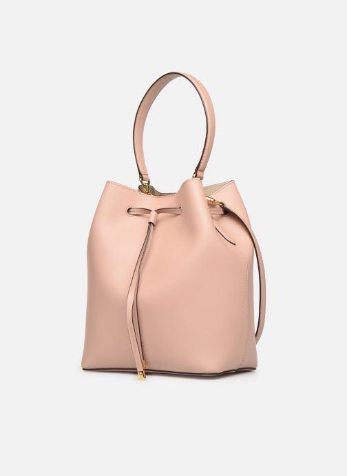Handtaschen Lauren Ralph Lauren DEBBY DRAWSTRING rosa schuhe getragen
