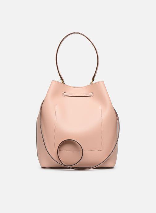 Handtassen Lauren Ralph Lauren DEBBY DRAWSTRING Roze voorkant