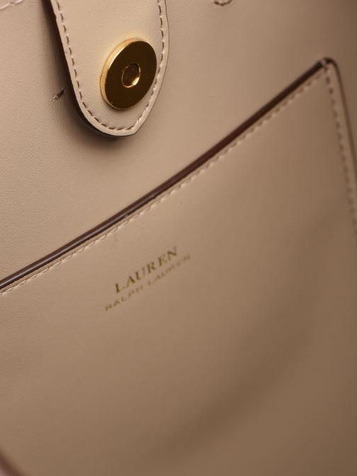 Handtassen Lauren Ralph Lauren DEBBY DRAWSTRING Roze achterkant