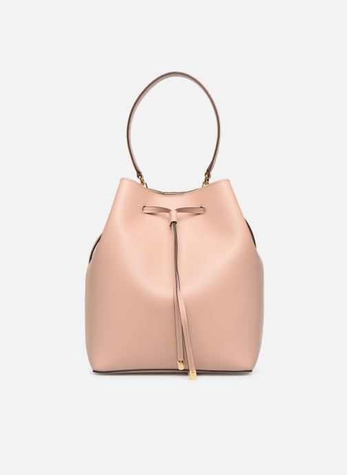 Handtassen Lauren Ralph Lauren DEBBY DRAWSTRING Roze detail
