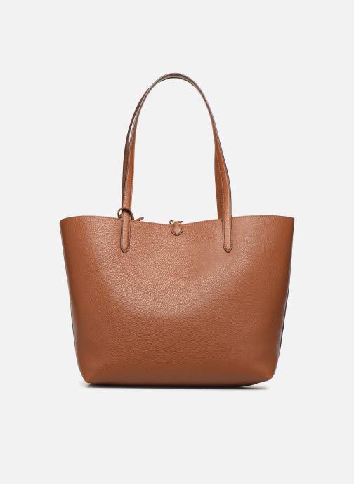 Handtaschen Lauren Ralph Lauren REVERSIBLE TOTE braun ansicht von vorne