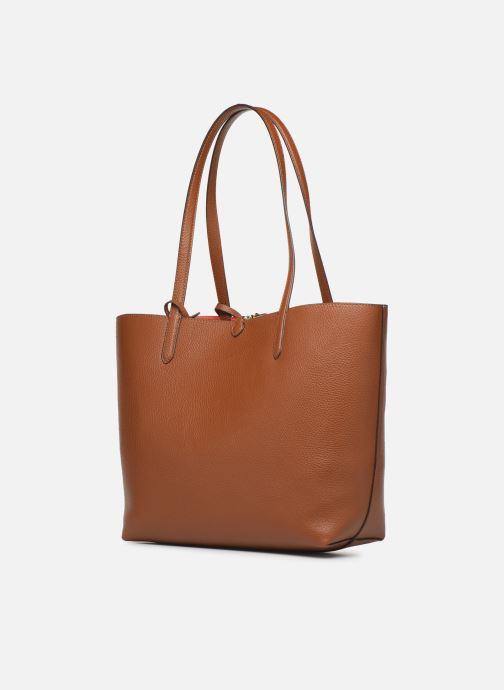 Handtaschen Lauren Ralph Lauren REVERSIBLE TOTE braun ansicht von rechts