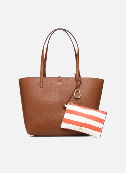 Handtaschen Lauren Ralph Lauren REVERSIBLE TOTE braun ansicht von hinten