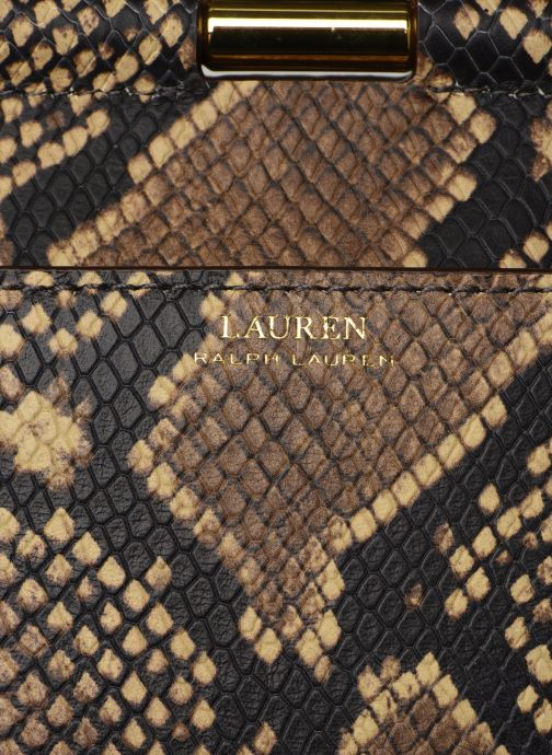 Sacs à main Lauren Ralph Lauren MASON Beige vue gauche