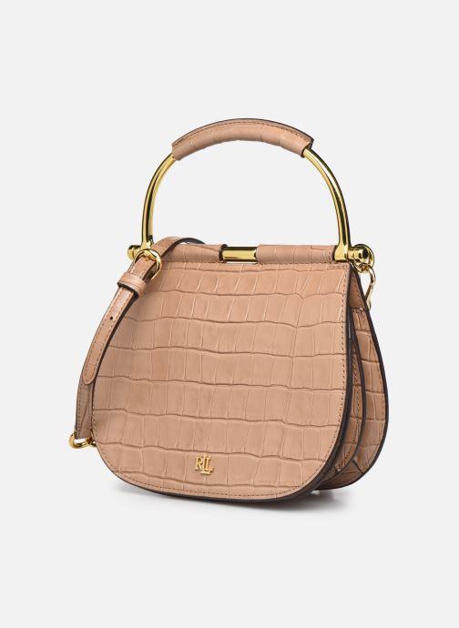 Handtaschen Lauren Ralph Lauren MASON beige schuhe getragen