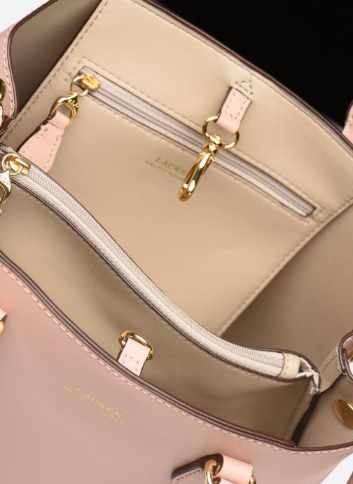 Handtassen Lauren Ralph Lauren MARCY II MINI Roze achterkant