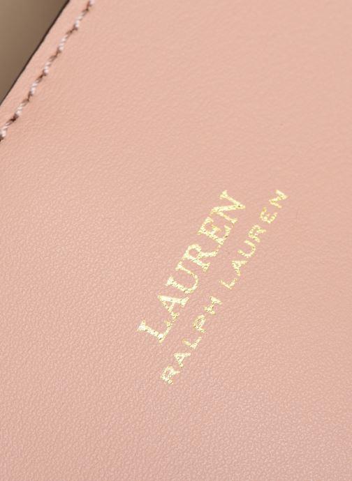 Sacs à main Lauren Ralph Lauren MARCY II MINI Rose vue gauche