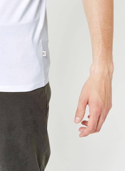 Vêtements Scotch & Soda Classic cotton/lycra crewneck tee Blanc vue face