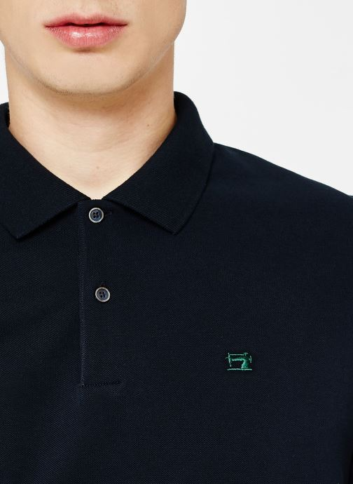Vêtements Scotch & Soda Classic polo in pique quality with clean outlook Bleu vue face