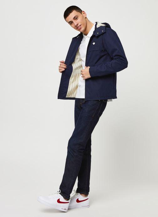 Vêtements Scotch & Soda Classic polo in pique quality with clean outlook Blanc vue bas / vue portée sac