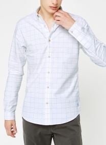 Vêtements Accessoires Blauw oxford shirt in solids, stripe and checks