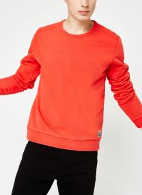 Vêtements Accessoires Ams Blauw garment dyed sweat with special oversized label