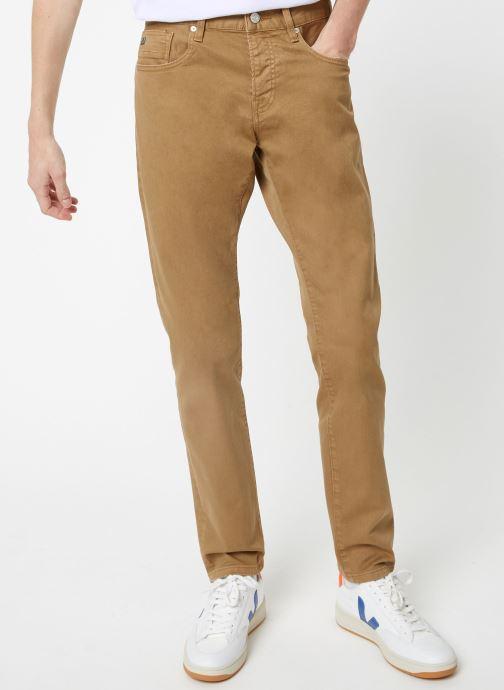 Vêtements Scotch & Soda Ralston - Clean garment dye colours Beige vue détail/paire