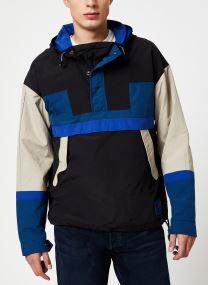 Vêtements Accessoires Blauw coast popover jacket with technical shiny details