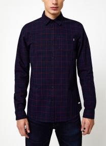 Vêtements Accessoires Denim check shirt in 3D structure quality