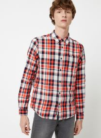 Vêtements Accessoires Light weight brushed flannel shirt in pop colours