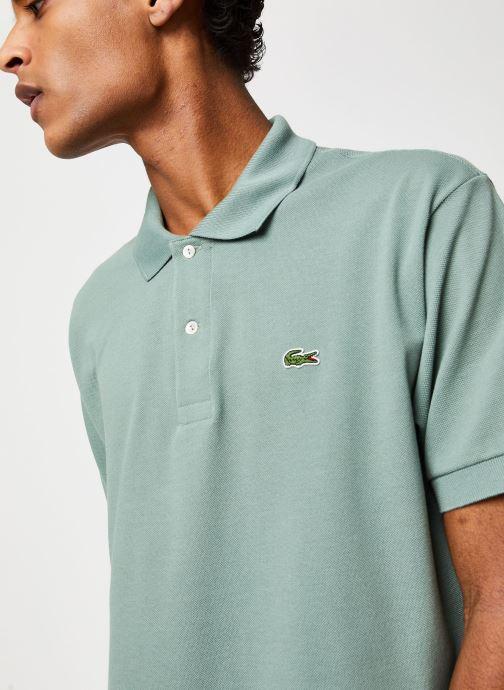 Vêtements Lacoste Polo Classique L1212 Manches Courtes Vert vue face