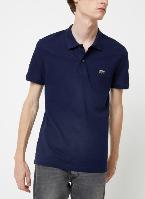 Vêtements Lacoste Polo PH4012 Slim Fit Manches Courtes Bleu vue détail/paire
